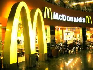 A Mcdonalds store